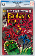 Silver Age (1956-1969):Superhero, Fantastic Four Annual #6 Don/Maggie Thompson Collection pedigree (Marvel, 1968) CGC NM+ 9.6 White pages....