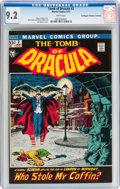 Bronze Age (1970-1979):Horror, Tomb of Dracula #2 Don/Maggie Thompson Collection pedigree (Marvel,1972) CGC NM- 9.2 White pages....