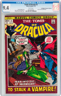 Bronze Age (1970-1979):Horror, Tomb of Dracula #3 Don/Maggie Thompson Collection pedigree (Marvel,1972) CGC NM 9.4 White pages....