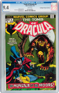 Bronze Age (1970-1979):Horror, Tomb of Dracula #6 Don/Maggie Thompson Collection pedigree (Marvel,1973) CGC NM 9.4 White pages....