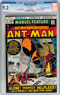 Bronze Age (1970-1979):Adventure, Marvel Feature #4 Ant-Man - Don/Maggie Thompson Collection pedigree (Marvel, 1972) CGC NM- 9.2 White pages....