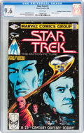 Modern Age (1980-Present):Science Fiction, Star Trek #1 Don/Maggie Thompson Collection pedigree (Marvel, 1980)CGC NM+ 9.6 White pages....