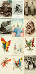 Miscellaneous:Postcards, [Postcards]. Group of Nineteen World War I Themed Postcards.Various publishers, [n.d., ca. 1910s]. Most measuring appro...