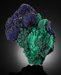 AZURITE & MALACHITE Liufengshan Mine, Guichi District, Chizhou Prefecture, Anhui Province, China