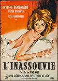 "Movie Posters:Foreign, Love in Rome (Les Films Marceau, 1960). French Affiche (22.5"" X 31.5""). Foreign.. ..."