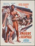"""Movie Posters:Fantasy, The Loves of Hercules (PIP, 1960). French Affiche (23"""" X 31""""). Fantasy.. ..."""