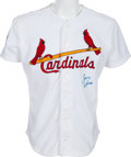 Baseball Collectibles:Uniforms, 1997 Tony LaRussa Game Worn St. Louis Cardinals Jersey With Team Letter. ...