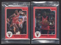 1980's Star Co. Basketball Sets In Original Bags (2) - Both with Michael Jordan!