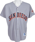 Baseball Collectibles:Uniforms, 2000-01 Tony Gwynn Game Worn San Diego Padres Jersey. ...