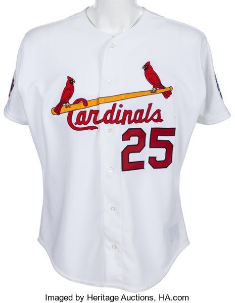 the best attitude b86ab 47c2f 1997 Mark McGwire Game Worn St. Louis Cardinals Jersey With ...