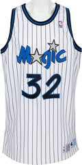 Basketball Collectibles:Uniforms, 1992-93 Shaquille O'Neal Game Worn Orlando Magic Jersey - RookieSeason!...