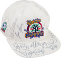 Autographs:Others, 1996 New York Yankees Team Signed World Series Cap....