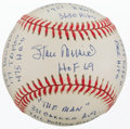 Baseball Collectibles:Balls, Stan Musial Single Signed, Inscribed Statball....