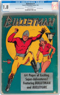 Golden Age (1938-1955):Superhero, Bulletman #1 (Fawcett Publications, 1941) CGC GD- 1.8 Off-white to white pages....