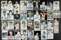 Autographs:Post Cards, Baseball Greats Signed Postcards Lot Of 30+....