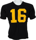 Football Collectibles:Uniforms, Circa 1962-63 Paul Krause Game Worn Iowa Hawkeyes Jersey....