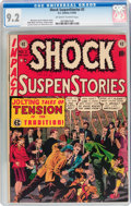 Golden Age (1938-1955):Horror, Shock SuspenStories #2 (EC, 1952) CGC NM- 9.2 Off-white to whitepages....