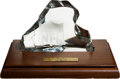 Football Collectibles:Others, 1973 NFL Pro Bowl Player's Participation Award - Paul Krause Collection....