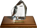 Football Collectibles:Others, 1974 NFL Pro Bowl Player's Participation Award - Paul Krause Collection....