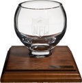 Football Collectibles:Others, 1976 NFL Pro Bowl Player's Participation Award - Paul Krause Collection....