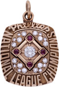 Baseball Collectibles:Others, 1993 Lenny Dykstra Philadelphia Phillies National LeagueChampionship Pendant....