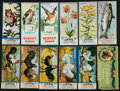 "Non-Sport Cards:Lots, 1920's ""V"" Cowan's Chocolates Card Collection (11) Plus Wrapper. ..."