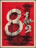 "Movie Posters:Foreign, 8½ (Columbia, 1963). French Affiche (23.5"" X 31.5""). Foreign.. ..."