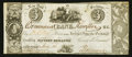 Canadian Currency: , Kingston, UC- Commercial Bank $3/15 Shillings Jan. 14, 1837 Ch. #145-10-02-06. ...