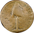 Colonials, 1776 COPPER New Hampshire Pine Tree Copper VG8 NGC. CAC. Breen-708, Whitman-8395, High R.7. ...