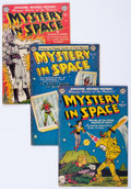 Golden Age (1938-1955):Science Fiction, Mystery in Space Golden Age Group (DC, 1951-54).... (Total: 5 ComicBooks)