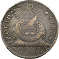 "Colonials, 1787 1C Fugio ""Cent"" (c. 1860), New Haven Restrike, Silver XF45 NGC. CAC. Newman 104-FF, W-17570, R.6. ..."