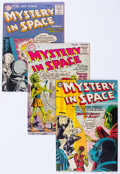 Golden Age (1938-1955):Science Fiction, Mystery in Space Group (DC, 1955-56).... (Total: 5 Comic Books)