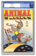 Golden Age (1938-1955):Funny Animal, Animal Comics #9 (Dell, 1944) CGC NM 9.4 Cream to off-white pages.Not a pedigree issue... not a File Copy... and no, you're...
