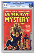 Golden Age (1938-1955):Horror, Black Cat Mystery #33 File Copy (Harvey, 1952) CGC NM 9.4 Cream tooff-white pages. The book Parade of Pleasure gave thi...