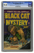 Golden Age (1938-1955):Horror, Black Cat Mystery #40 File Copy (Harvey, 1952) CGC VF/NM 9.0 Creamto off-white pages. Rudy Palais and Bob Powell interior a...