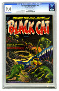 Golden Age (1938-1955):Horror, Black Cat Mystery #47 (Harvey, 1953) CGC NM 9.4 Cream to off-whitepages. This is the highest-graded copy CGC has certified ...
