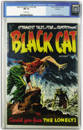 Golden Age (1938-1955):Horror, Black Cat Mystery #48 Northford pedigree (Harvey, 1954) CGC NM 9.4Off-white pages. This installment of pre-Code creepiness ...