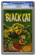 Golden Age (1938-1955):Horror, Black Cat Mystery #53 File Copy (Harvey, 1954) CGC NM 9.4 Cream tooff-white pages. This copy is the nicest we had ever seen...