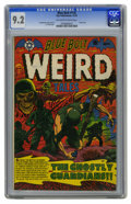 Golden Age (1938-1955):Horror, Blue Bolt #116 (Star Publications, 1952) CGC NM- 9.2 Off-white towhite pages. War is truly a nightmarish hell, at least as ...