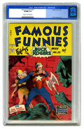 Golden Age (1938-1955):Science Fiction, Famous Funnies #211 (Eastern Color, 1954) CGC VF/NM 9.0 Cream tooff-white pages. Buck Rogers and Wilma Deering never looked...