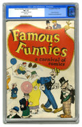 Platinum Age (1897-1937):Miscellaneous, Famous Funnies: A Carnival of Comics #nn (Eastern Color, 1933) CGCFN- 5.5 Cream pages. Widely regarded as the second comic ...