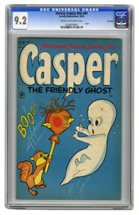 Harvey Comics Hits #61 Casper The Friendly Ghost - File Copy (Harvey, 1952) CGC NM- 9.2 Cream to off-white pages. This i...