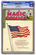 Golden Age (1938-1955):Miscellaneous, Magic Comics #36 Mile High pedigree (David McKay Publications, 1942) CGC NM 9.4 Off-white to white pages. The simple notatio...