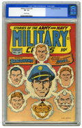 Golden Age (1938-1955):War, Military Comics #26 (Quality, 1944) CGC VF- 7.5 Off-white pages.Featuring Blackhawk. Alex Kotzky cover. Overstreet 2006 VF ...