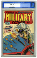 Golden Age (1938-1955):War, Military Comics #30 (Quality, 1944) CGC VG/FN 5.0 Off-white towhite pages. Bill Ward and Jack Cole art. Overstreet 2006 VG ...
