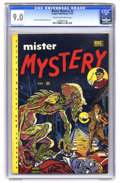 Golden Age (1938-1955):Horror, Mister Mystery #2 (Aragon Magazines, Inc., 1951) CGC VF/NM 9.0Cream to off-white pages. The artistic team of Ross Andru and...