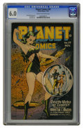 Golden Age (1938-1955):Science Fiction, Planet Comics #39 (Fiction House, 1945) CGC FN 6.0 Cream tooff-white pages. Lily Renee cover. Overstreet 2006 FN 6.0 value ...