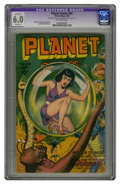 Golden Age (1938-1955):Science Fiction, Planet Comics #44 (Fiction House, 1946) CGC Apparent FN 6.0 Slight(A) Off-white pages. Murphy Anderson, Bob Lubbers, and Ru...
