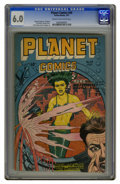 Golden Age (1938-1955):Science Fiction, Planet Comics #49 (Fiction House, 1947) CGC FN 6.0 Cream tooff-white pages. Murphy Anderson, Lily Renee, and George Evans a...
