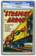 Golden Age (1938-1955):Western, Straight Arrow #7 Mile High pedigree (Magazine Enterprises, 1950)CGC NM/MT 9.8 Off-white to white pages. As many times as w...